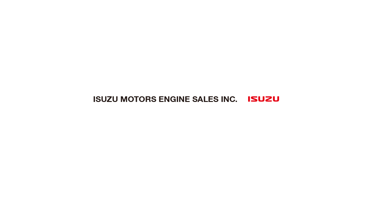 ISUZU MOTORS ENGINE SALES INC.